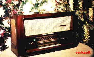 Radios der 50er Jahre auf der Homepage von Eike Grund